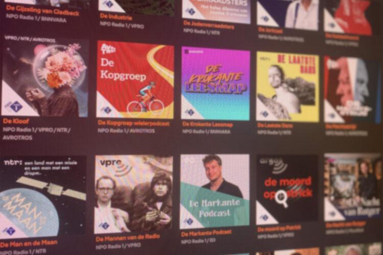 Podcast overzicht NPO